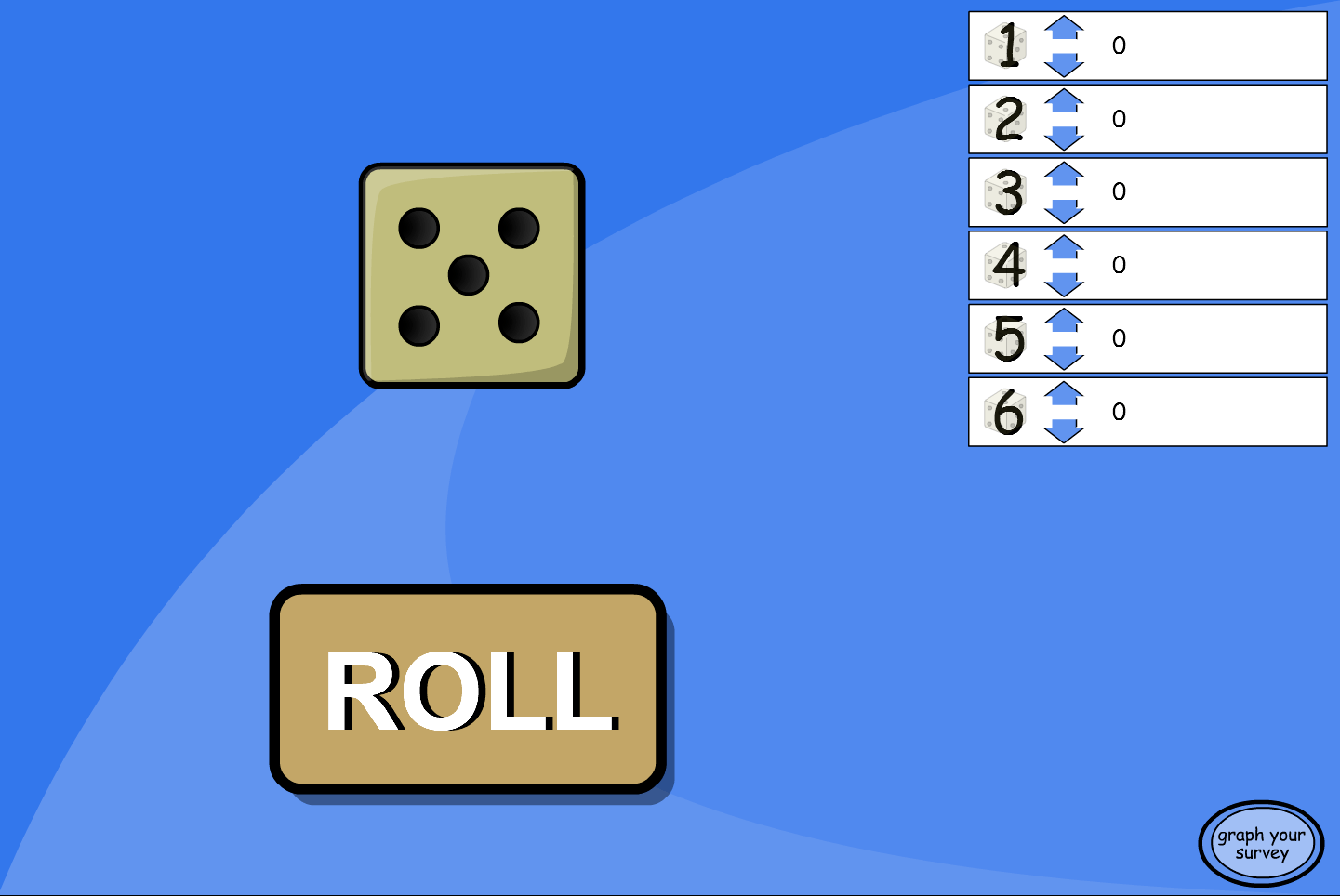 Dice Roll Probability Experiment