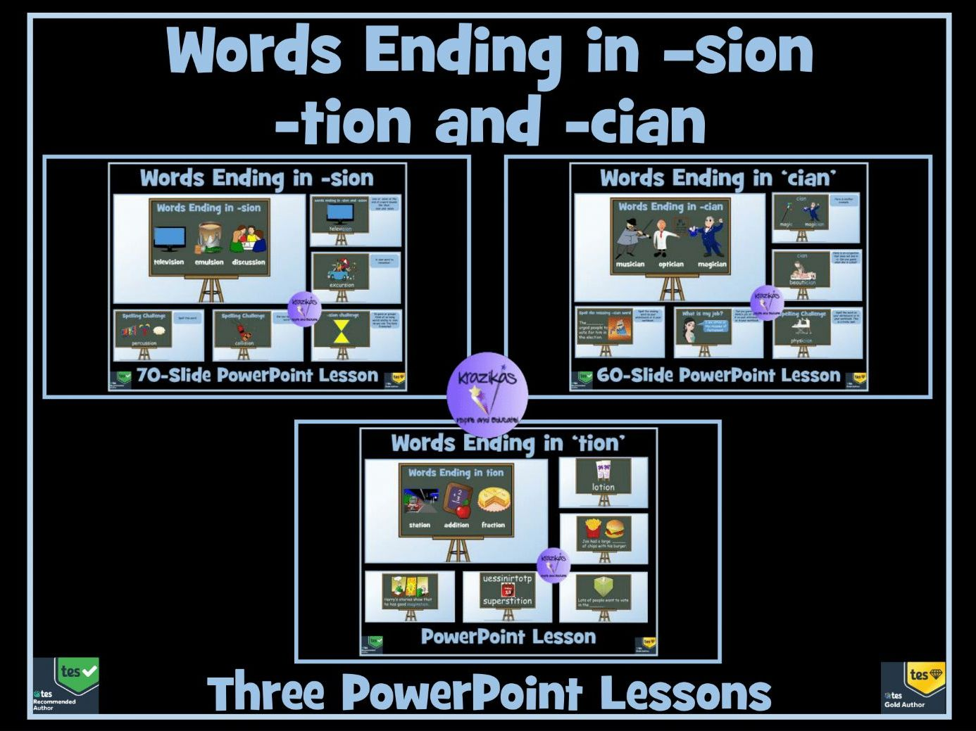 Tion Sion Ssion And Cian Suffixes