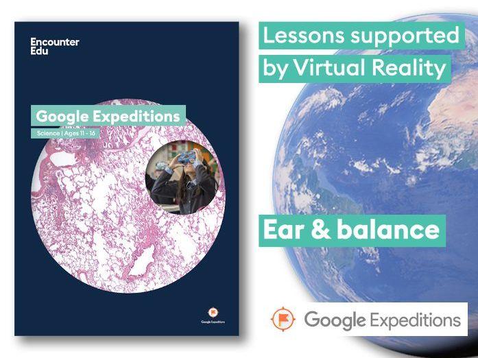 Ear and balance #GoogleExpeditions Science KS2 KS3 ...