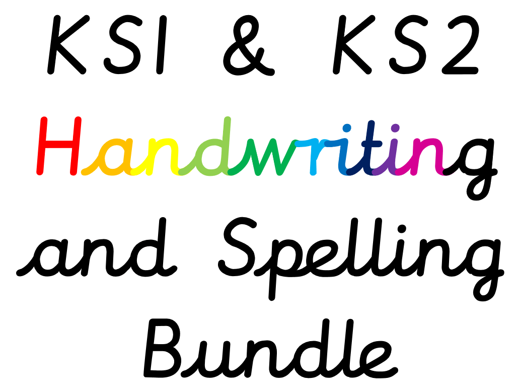 Secondary Handwriting Resources
