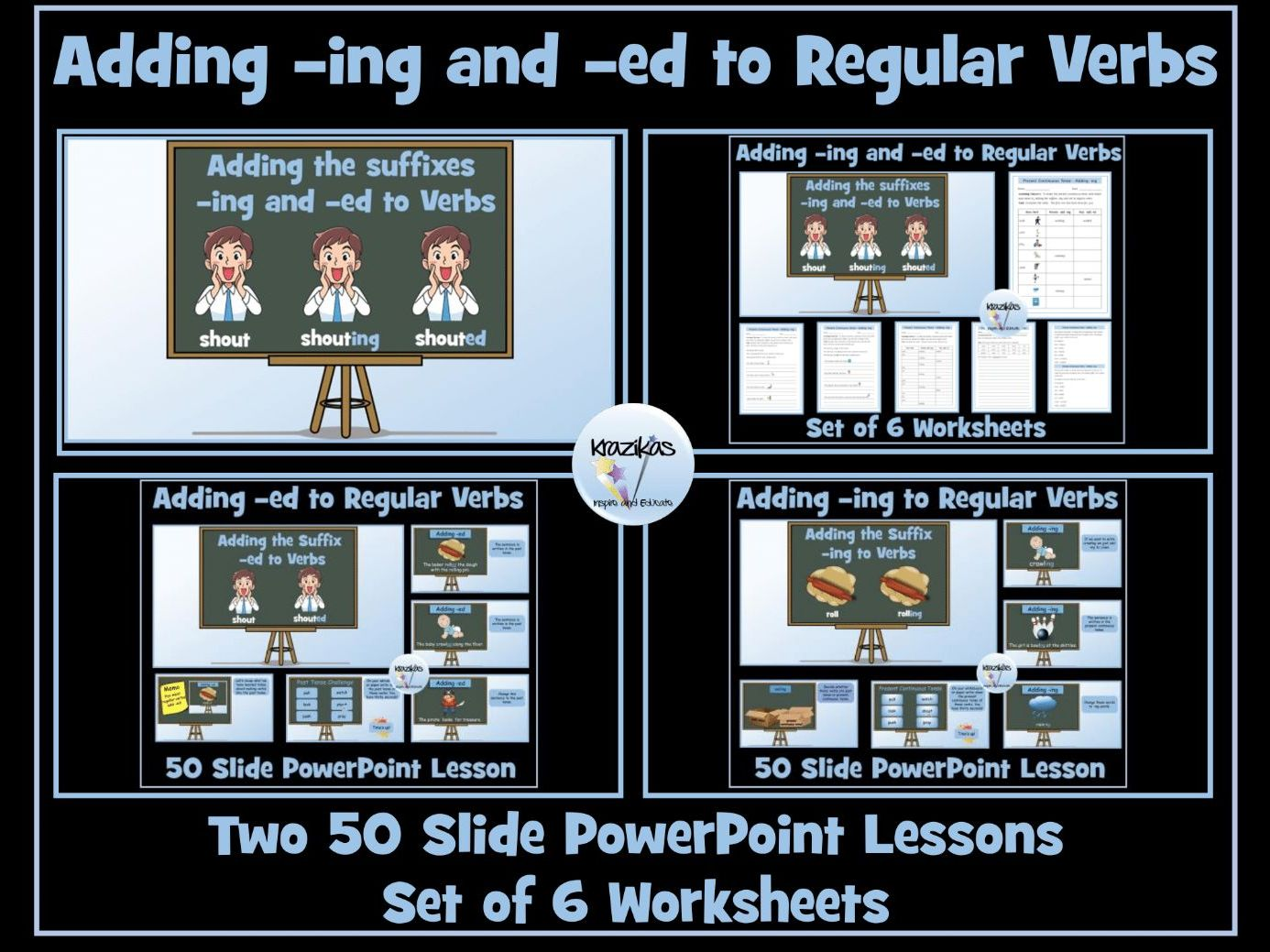 Verbs Adding Ing And Ed To Regular Verbs