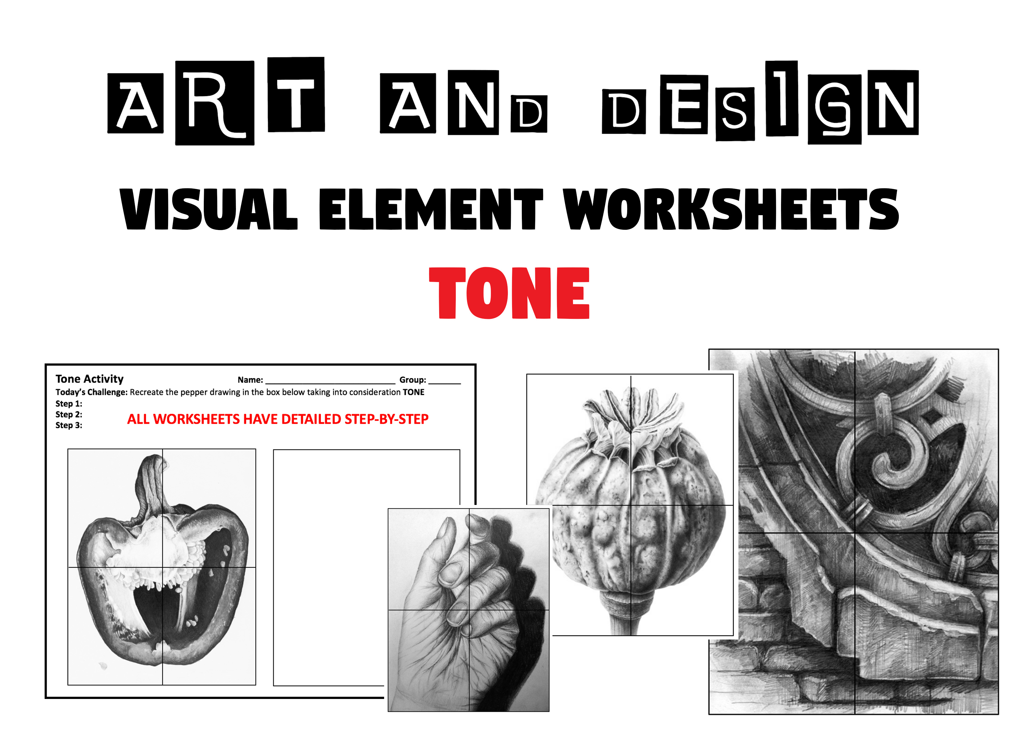 Elements And Principles Of Design Worksheet