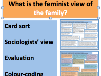 *FULL LESSON* What is the Feminist View of the Family? A ...
