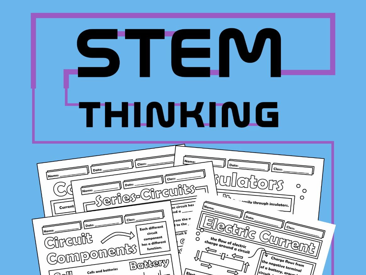 Electrical Circuits Physics Bundle By Stemthinking