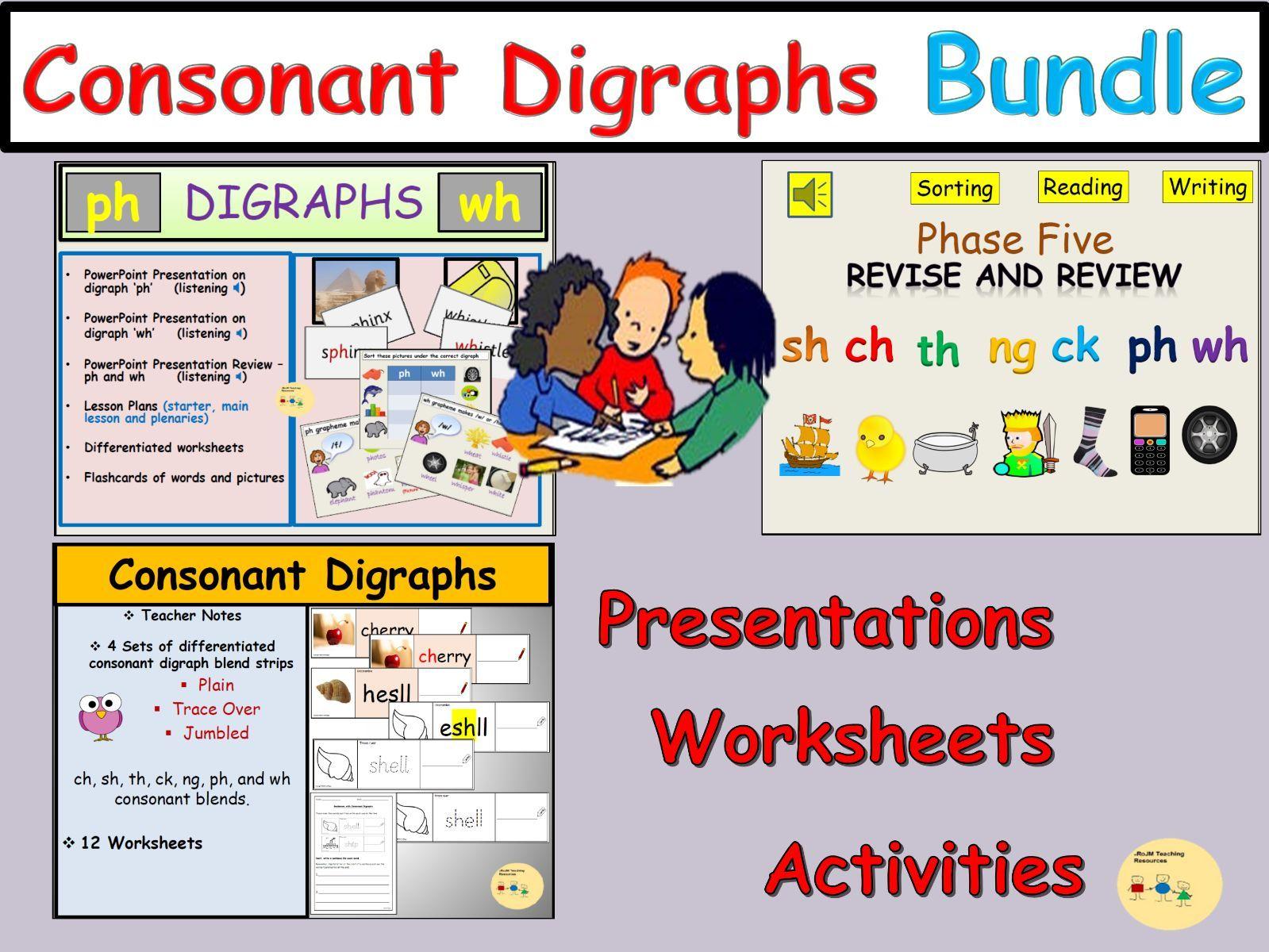 Consonant Digraph Bundle