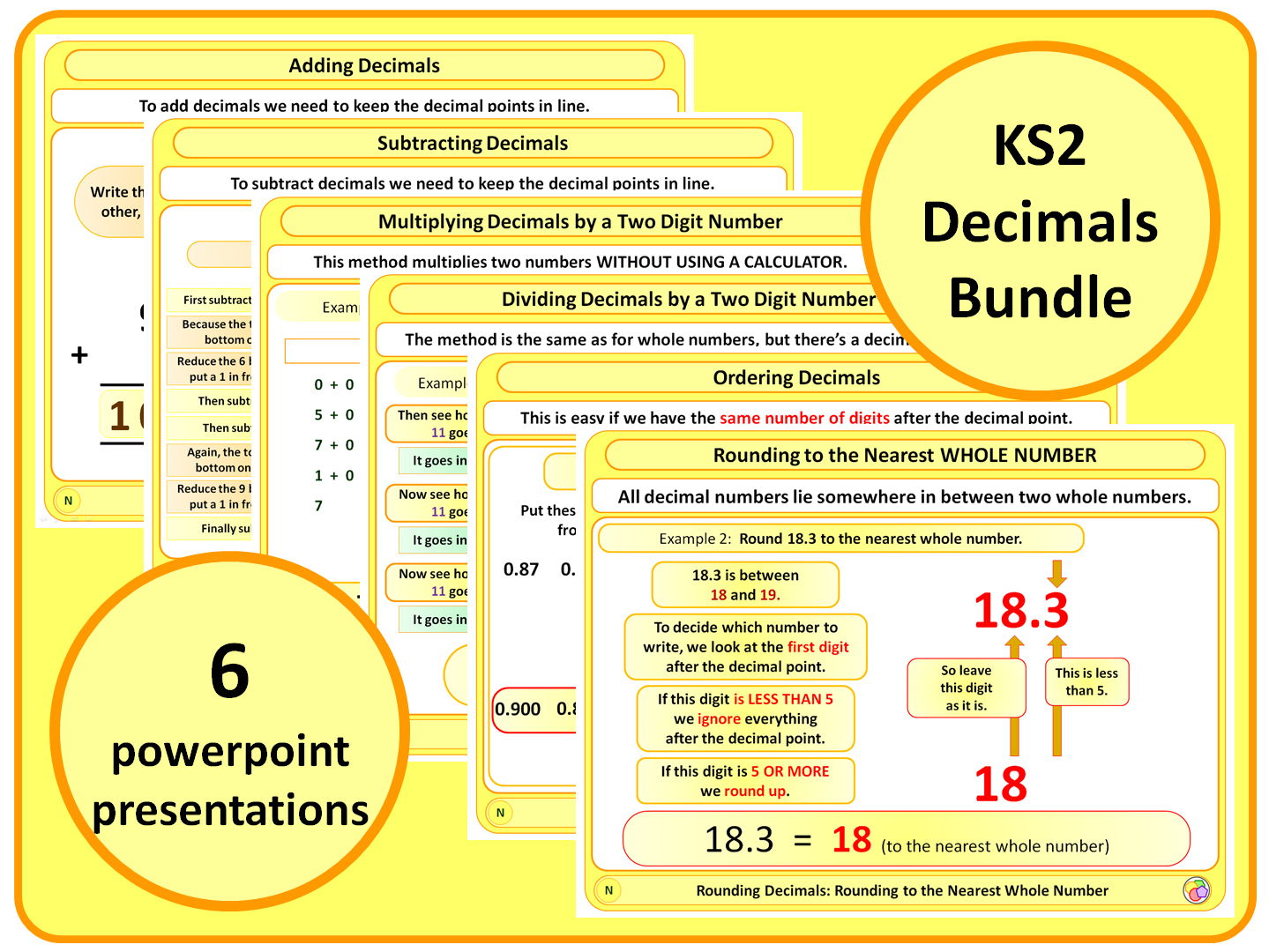 Ks2 Decimals Bundle
