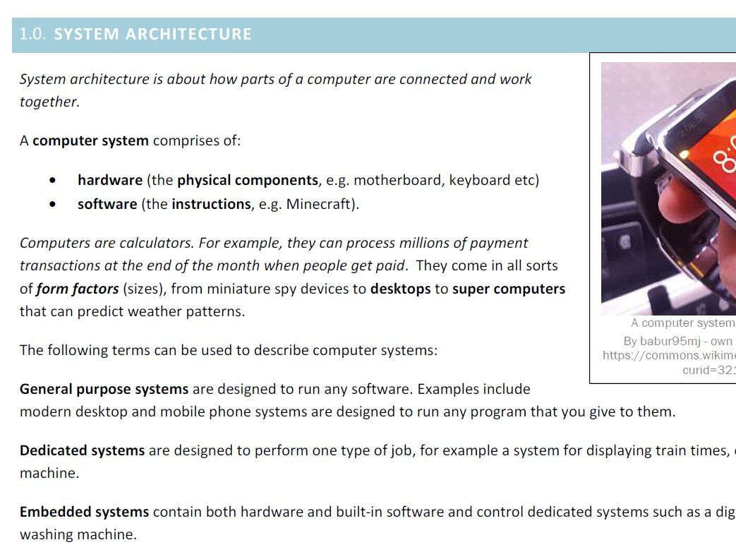 Gcse 9 1 Ocr Computer Science Complete Set Of Study Notes