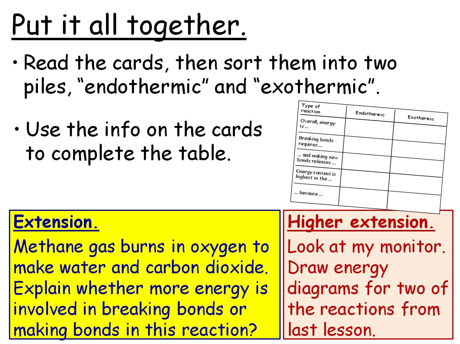 Rates Of Reaction And Energy Changes 5 Gcse Chemistry