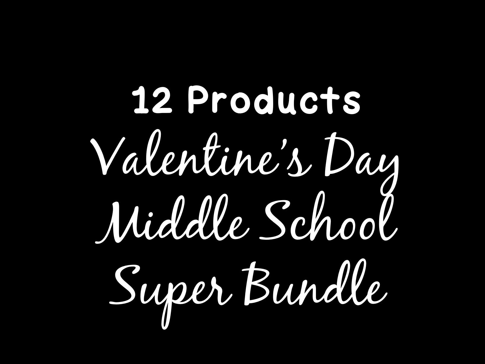 Valentine S Day Middle School Math Bundle By
