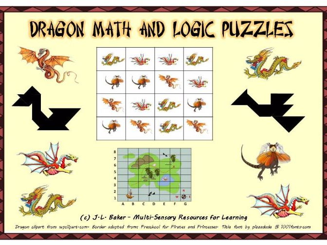 Logic High Puzzles Geometry School Math