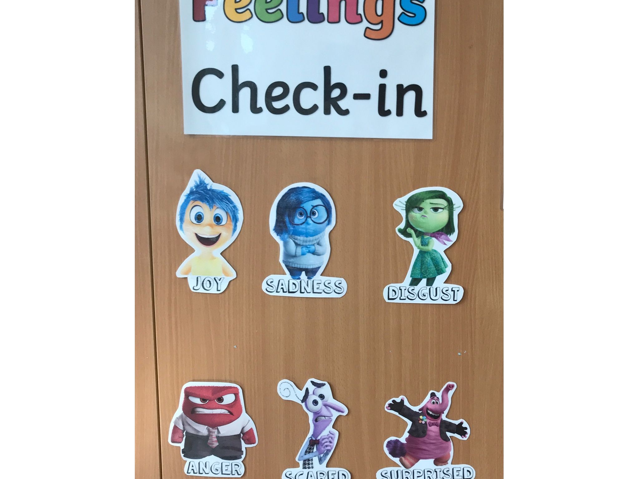 Inside Out Feelings Check In