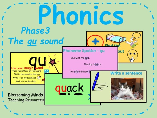 Phase 3 phonics - The 'qu' sound | Teaching Resources