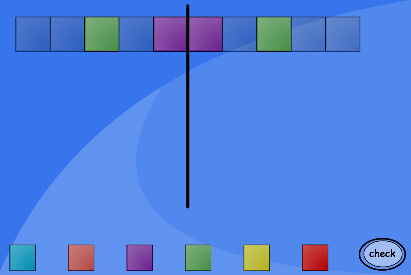 Symmetrical Patterns Interactive Activity
