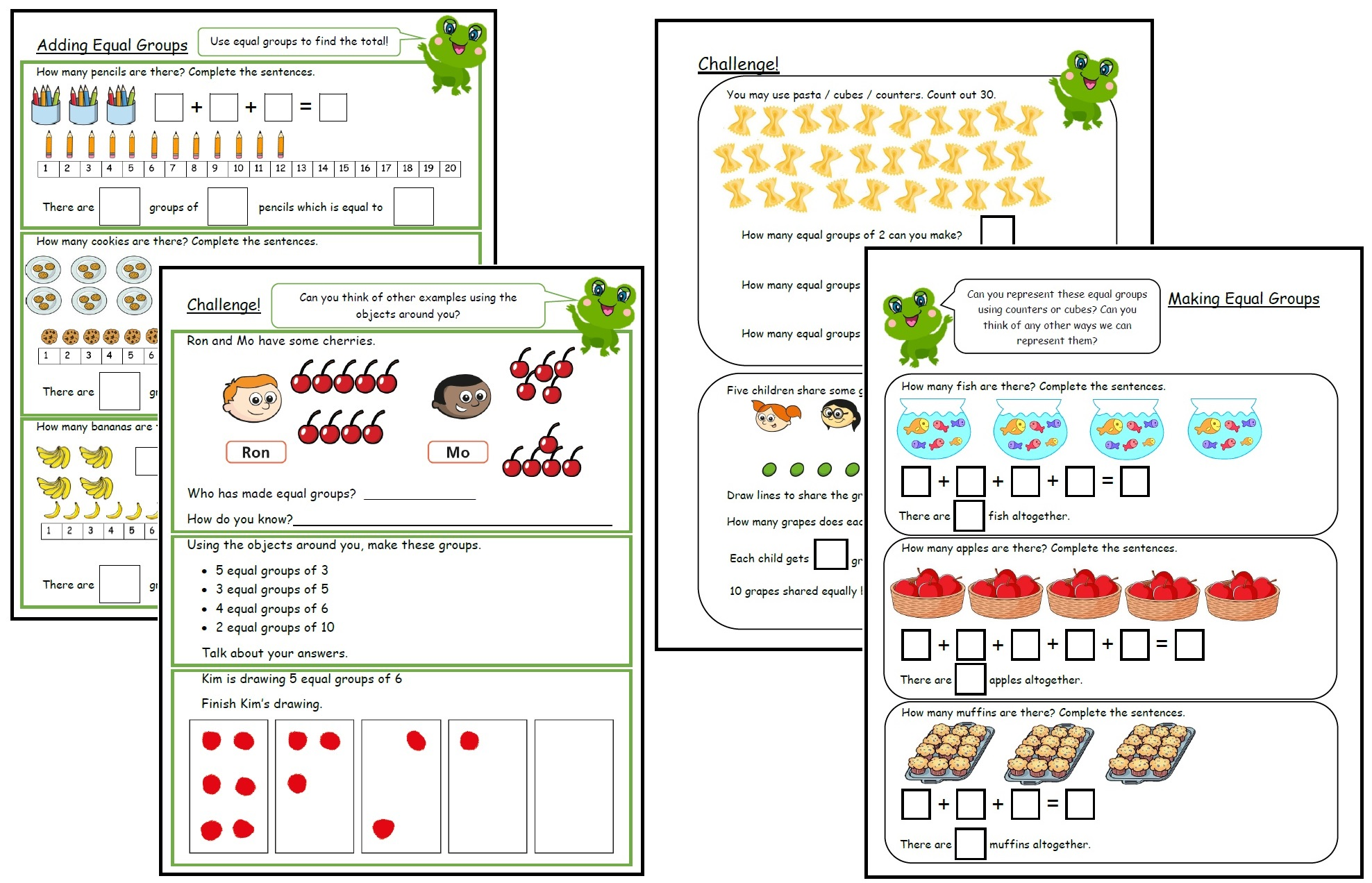 Primary Multiplication And Division Resources