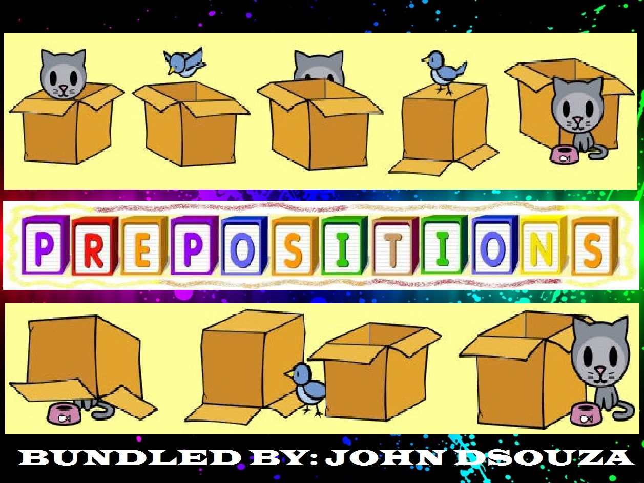 Prepositions Lessons And Resources Bundle By John
