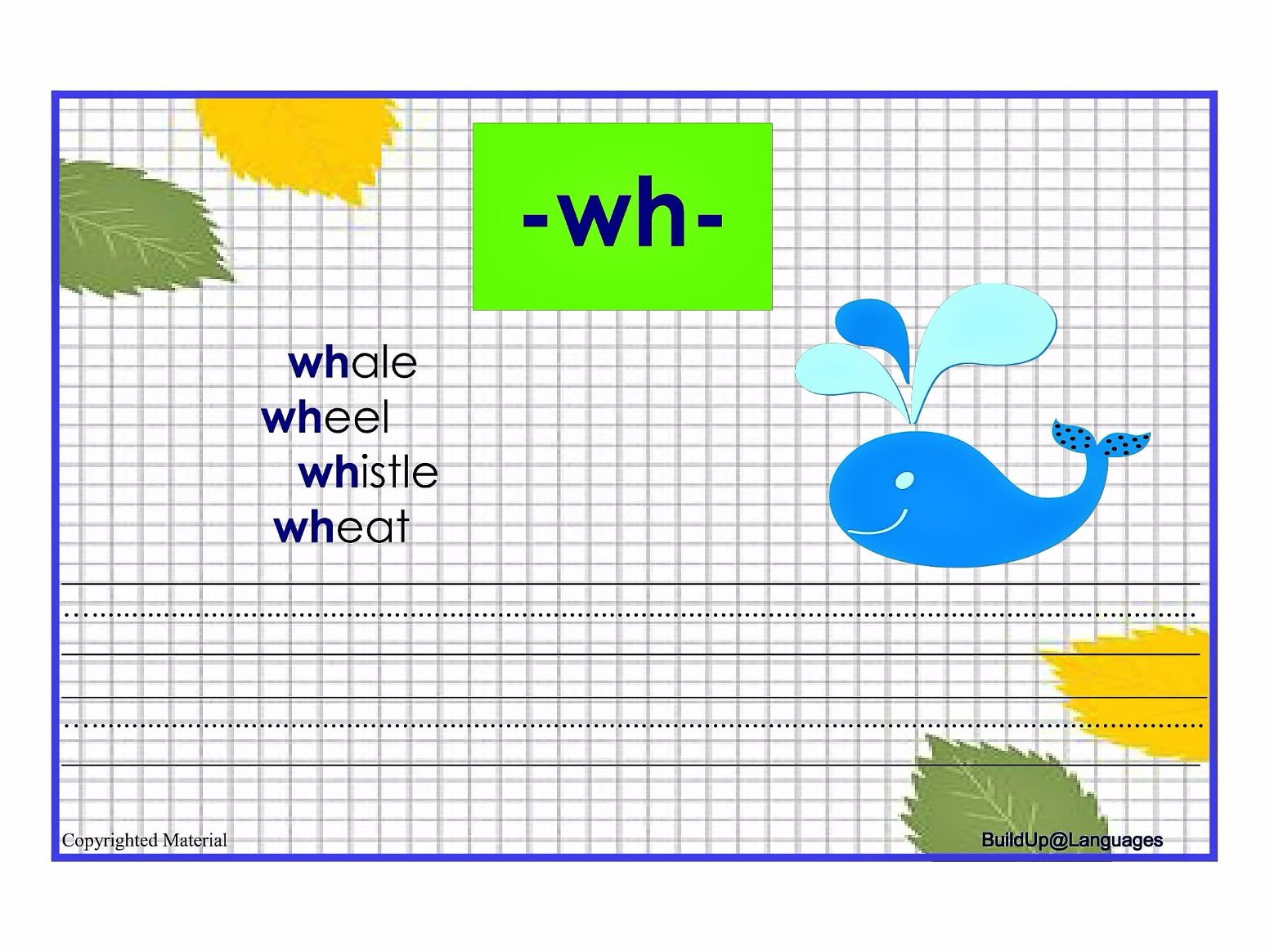 Practise Phonics Qu Ch Ow Sh Th Wh By Planactivity