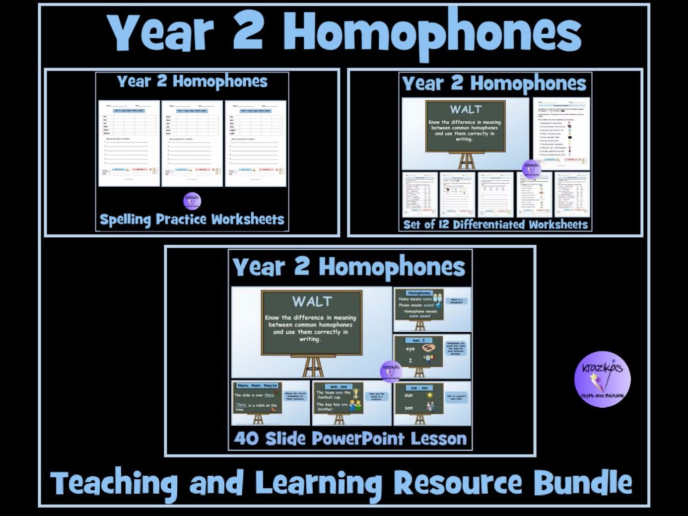 Homophones Year 2