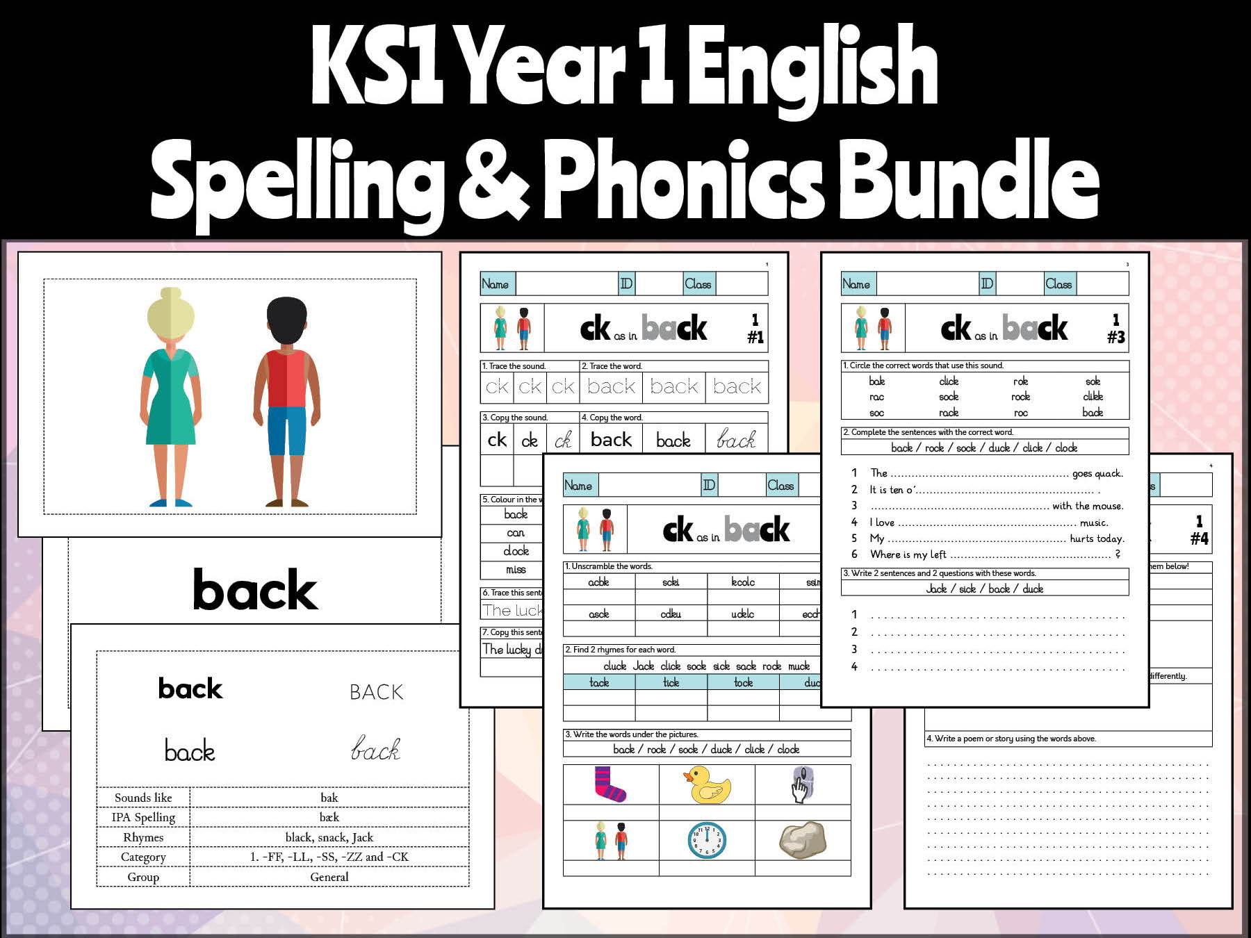 Teach Child How To Read Phonics Words Year 1