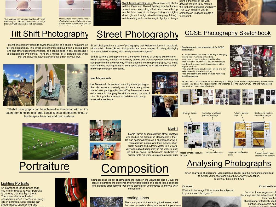 Art Amp Photography Poster Handout Bundle