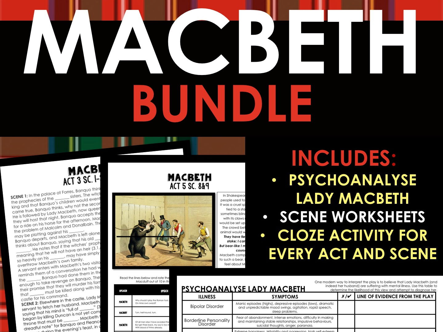 Macbeth Growing Bundle