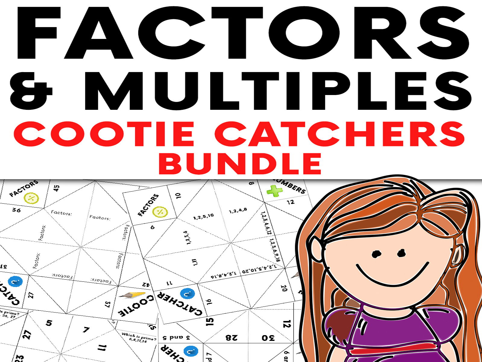 Secondary Factors Multiples And Primes Resources