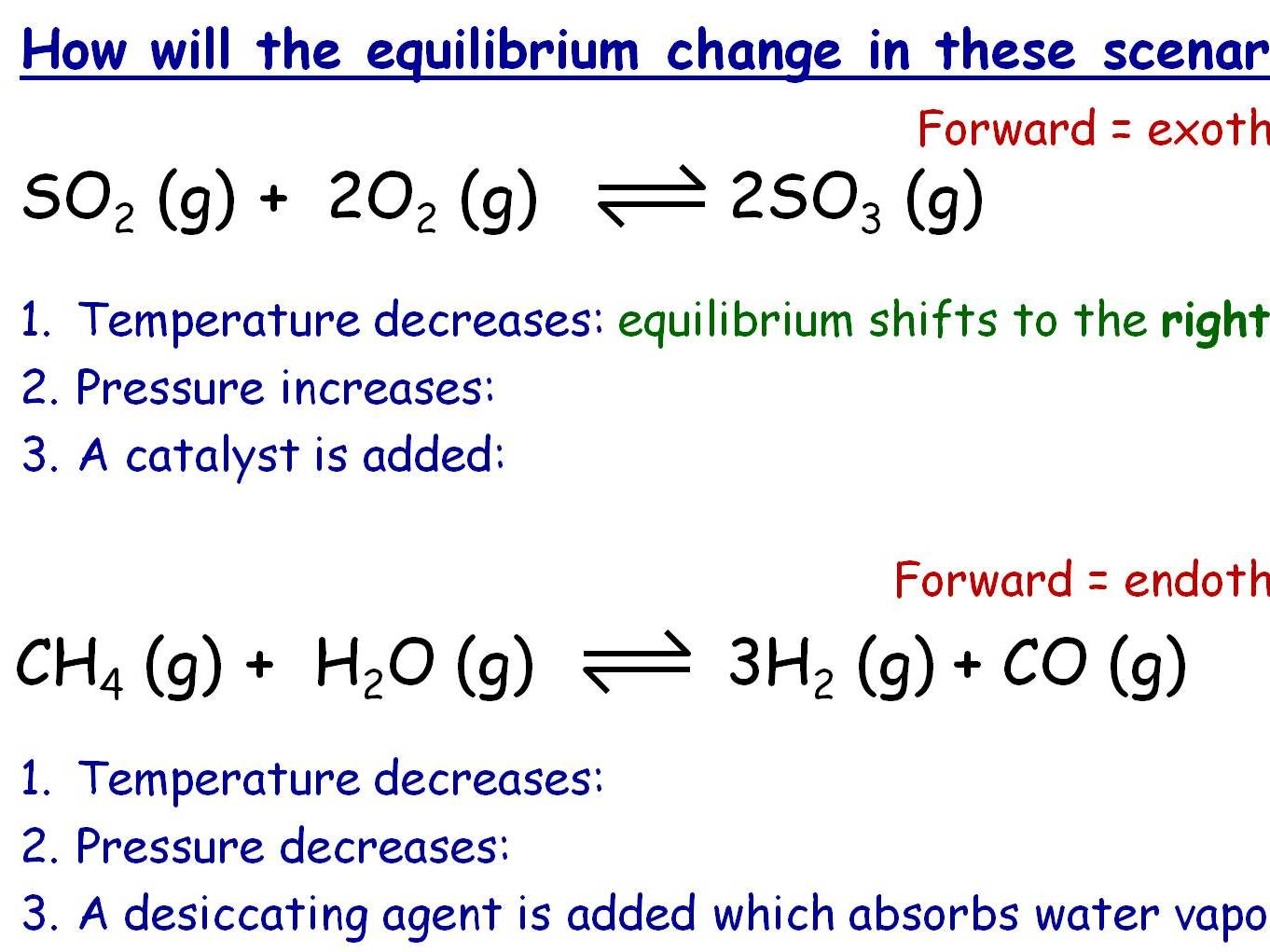 Dynamic Equilibrium Moles And Other Tricky Chemistry