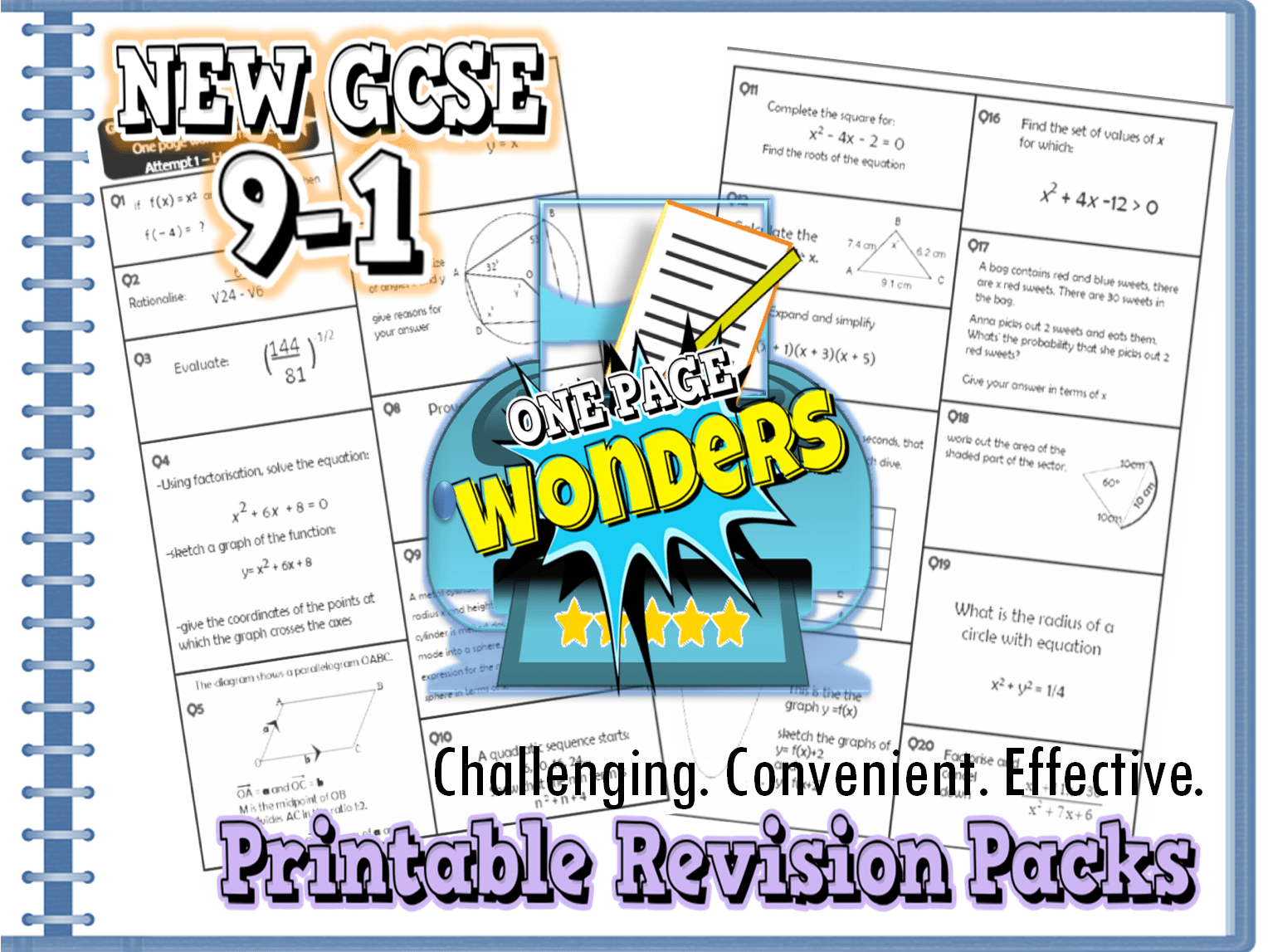 Gcse 9 1 Revision Exam Practice Maths Higher Packs Bundle Inc Extension By Ambowers2