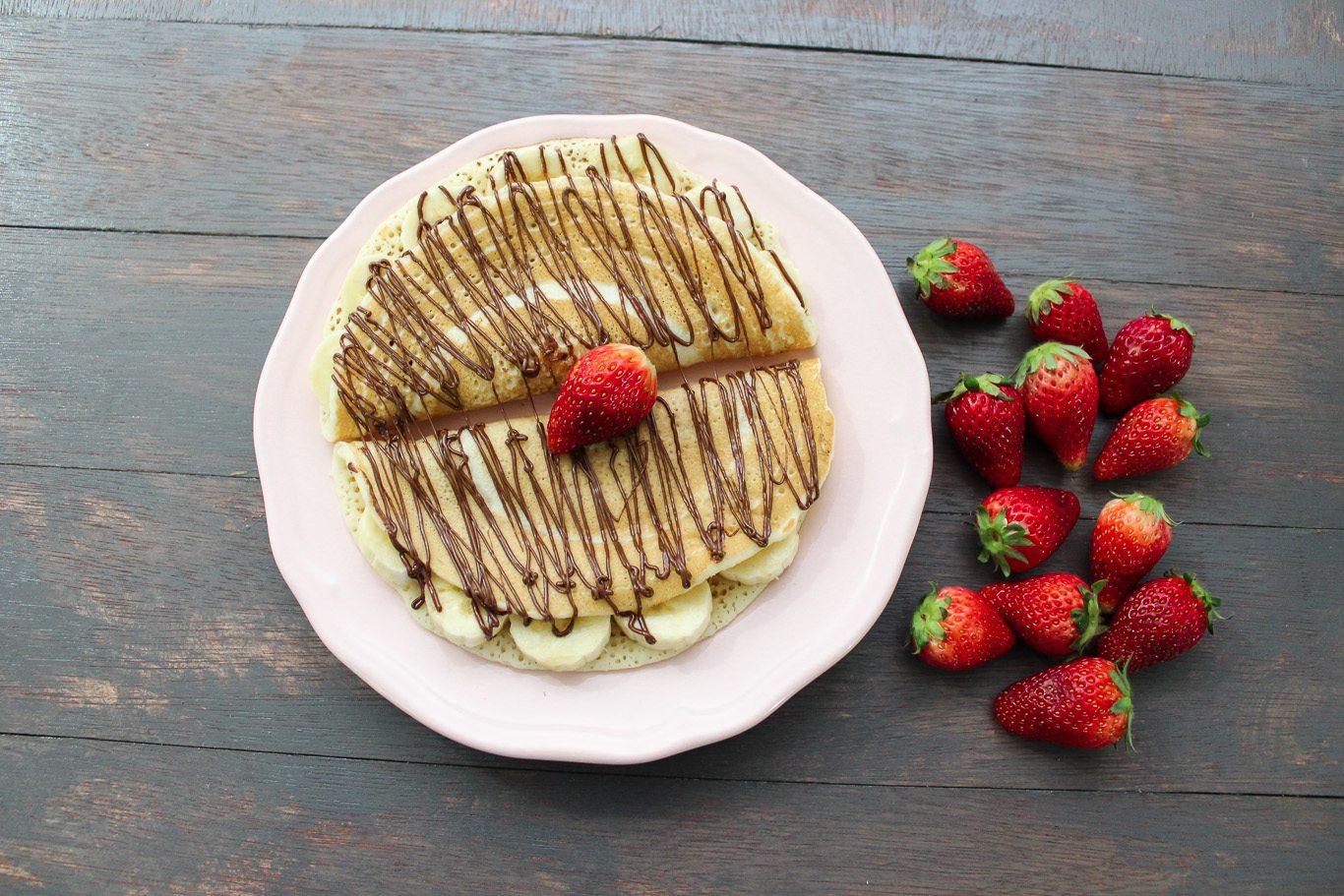Banana Nutella Pancake