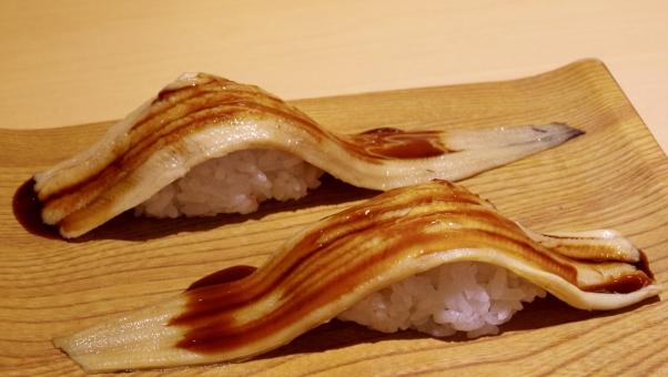 穴子一本にぎり 穴子一本握り アナゴ 寿司 鮨 すし スシ SUSHI Sushi sushi 魚 さかな fish たれ 美味しい