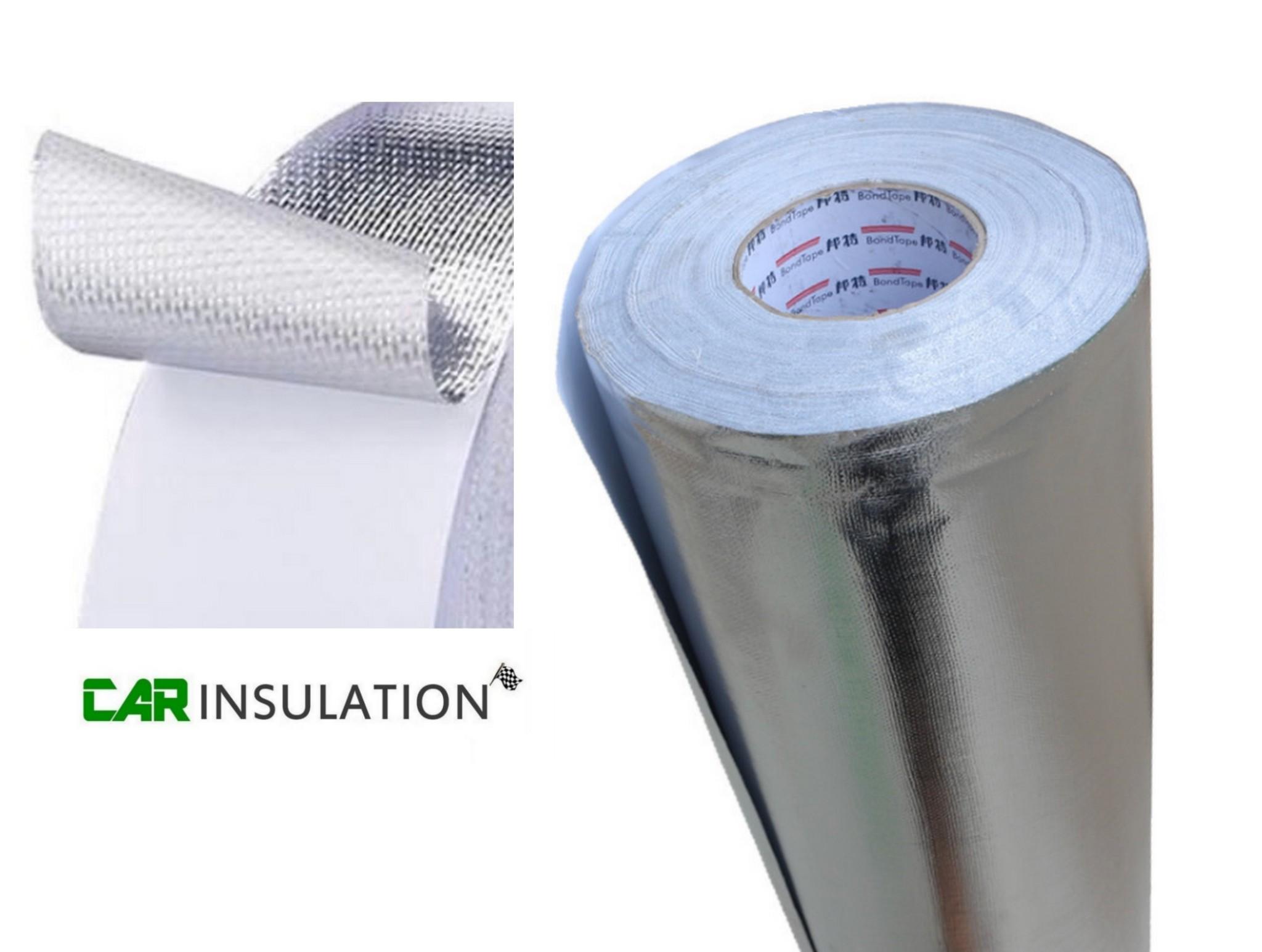 gfmax 1mm foil glass fiber exhaust wrap heat protection insulation