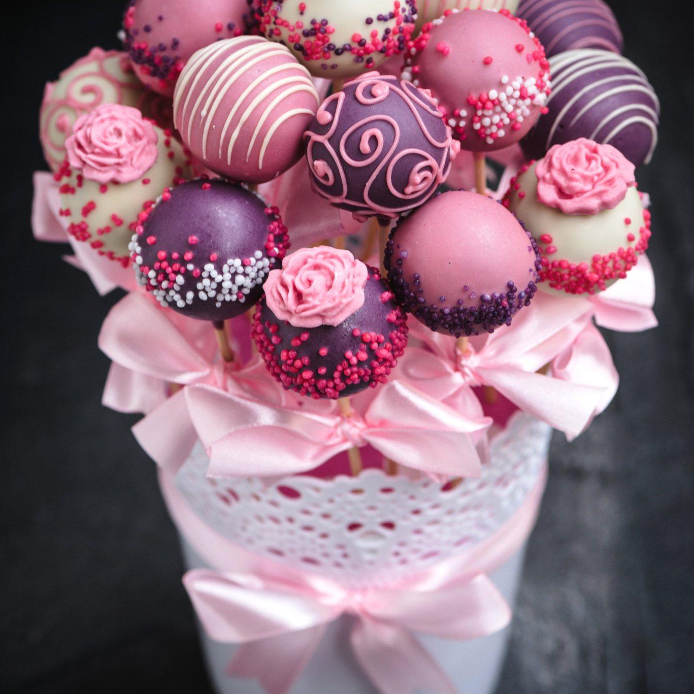 Cake Pop Bouquet Diy
