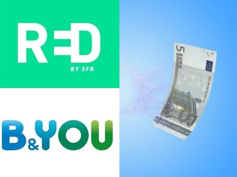 Quel Forfait Mobile 5 Go A 5 Choisir Red By Sfr Ou B You Cnet France