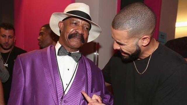 Drake's dad releases new music video news Dennis Graham