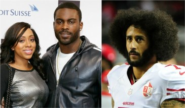 Michael Vick's wife refused sex over Kaepernickcomments
