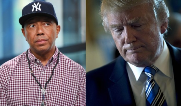 Russell Simmons pens letter to ex friend Trump: Wake the f**k up news russell simmons trump