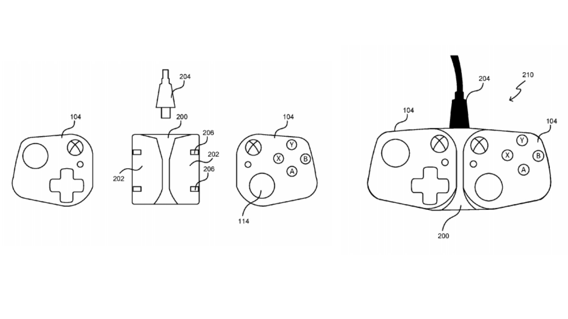 Microsoft Patent Hints At Xbox Controllers For Mobiles