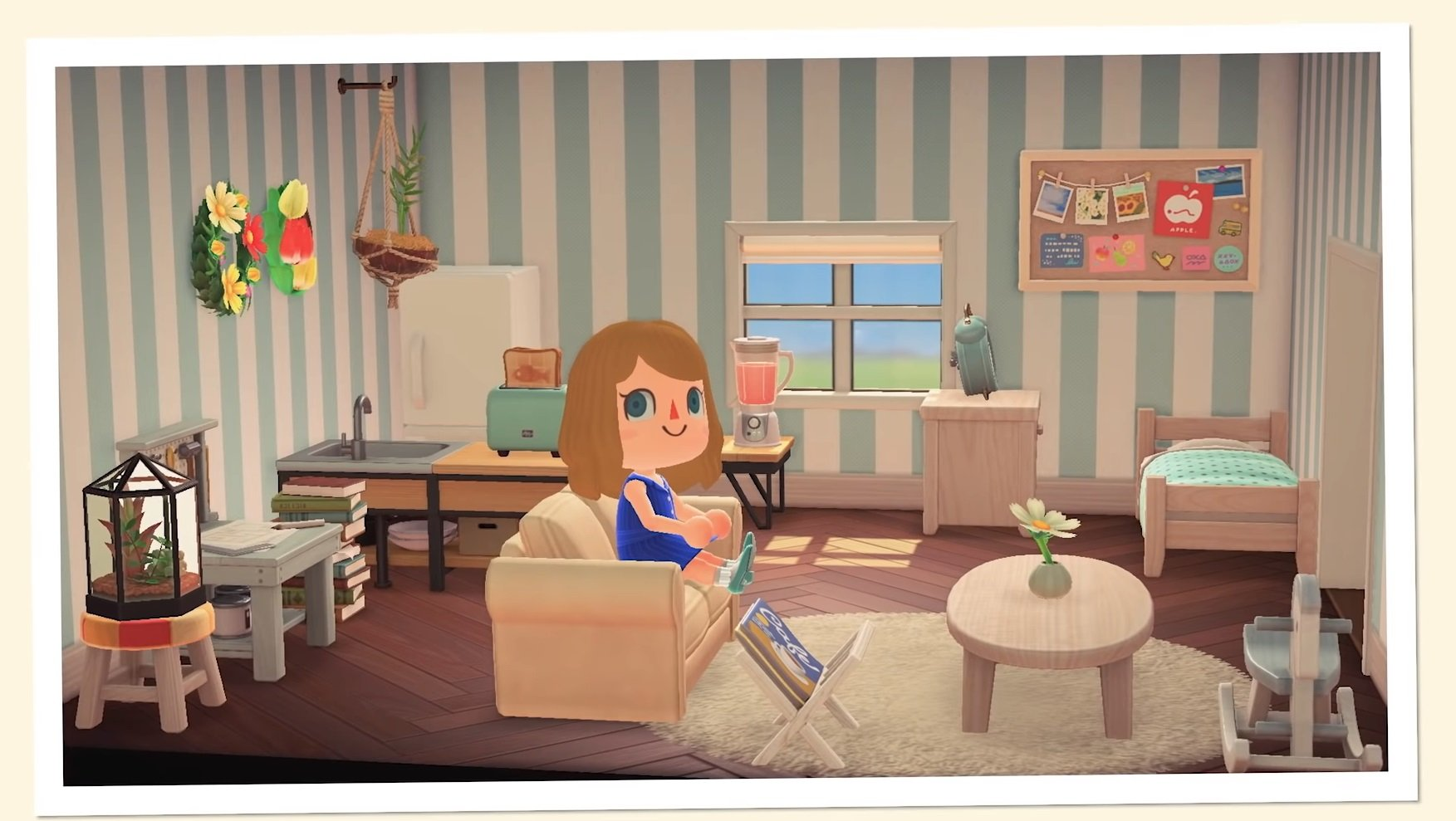 How to build a house in Animal Crossing: New Horizons ... on Animal Crossing Room Ideas New Horizons  id=30173