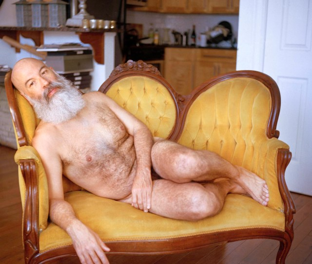 Work With Nude Men Matthew Morrocco Rod On The Yellow Couch 2015