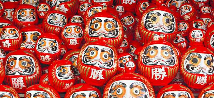 不只是吉祥物還能許願──認識日本達摩不倒翁 | 樂吃購!日本