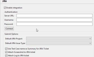 enable JIRA Integration