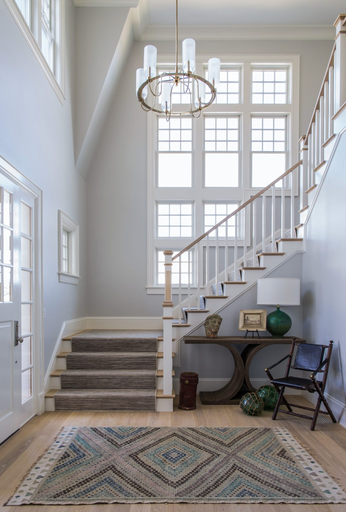 35 Stairwell Decorating Ideas Chairish Blog   Cape Cod Staircase Designs   Raised Bungalow Deck   Layered   Interior   Veranda Step   Stair