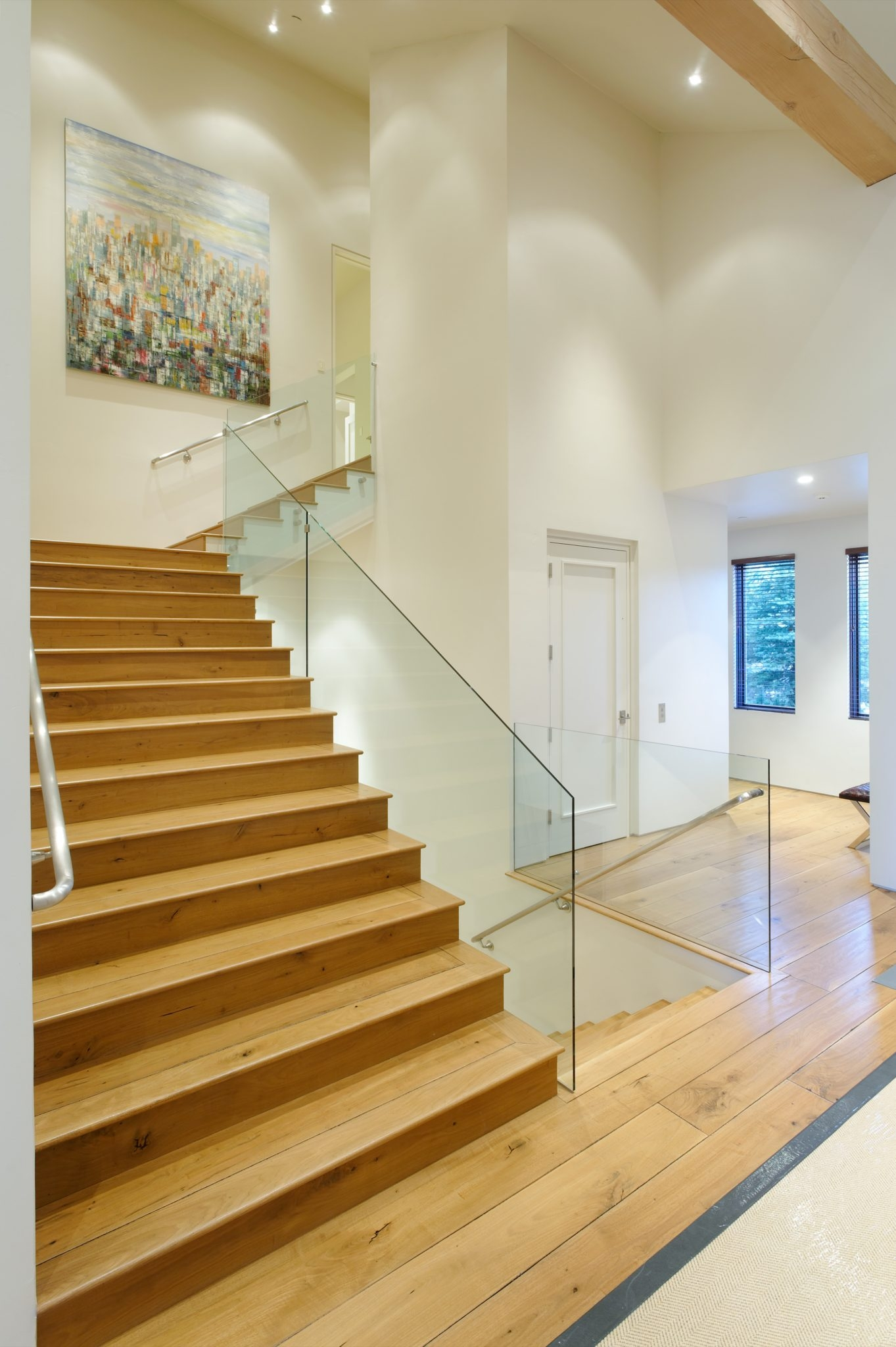Unique Beautiful Banister Designs Chairish Blog   Unique Handrails For Stairs   Residential Staircase   Hand Rail   Simple   Inside   Interior