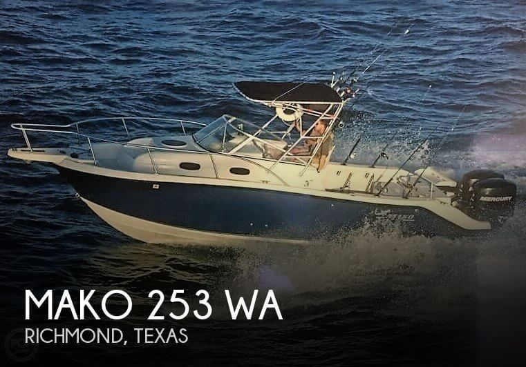 For Sale Used 2006 Mako 253 Wa In Richmond Texas Boats
