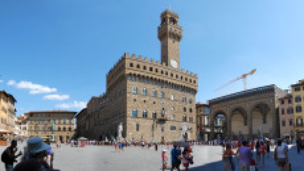 piazza della Signoria, toc toc firenze