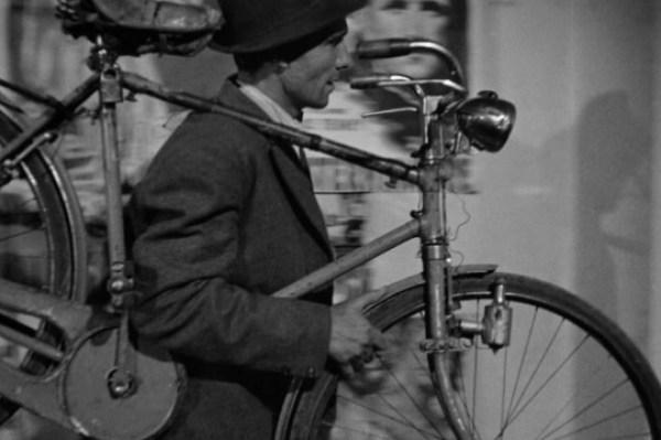 ciclista derubato