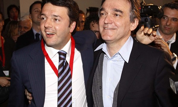 Enrico Rossi e Matteo Renzi, Toc Toc Firenze