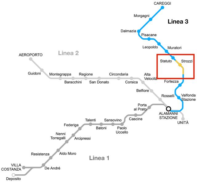 Mappa Milton-Strozzi piccola