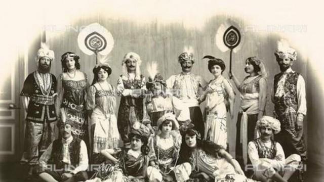 prima sfilata di moda in italia