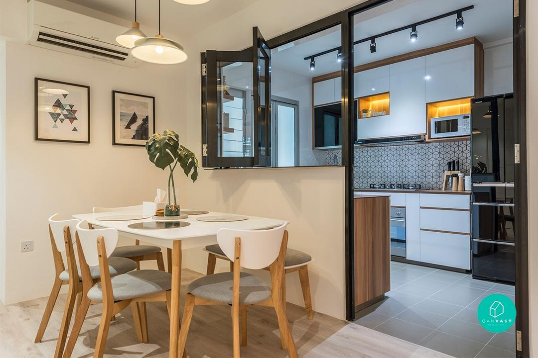 10 Homes That Show Why 4-Room HDBs Aren't Boring At All ... on Small:xmqi70Klvwi= Kitchen Renovation Ideas  id=82954