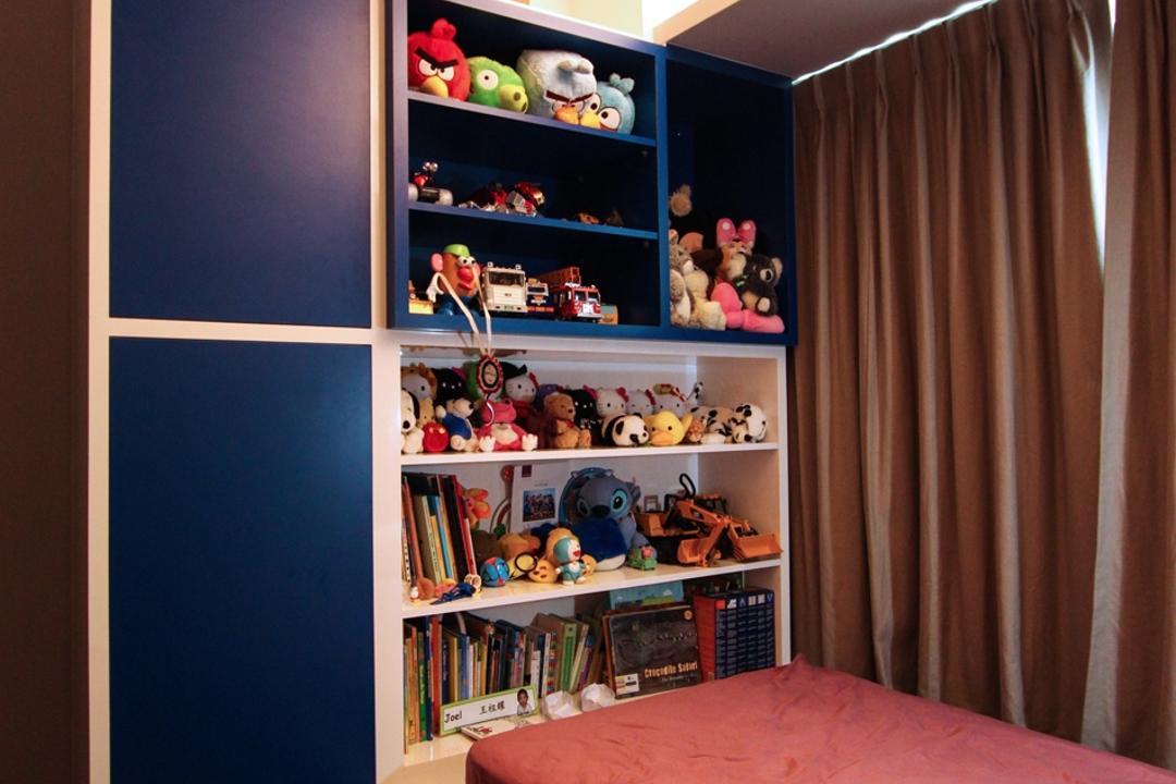children storage bed interior design